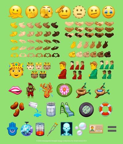 emoji 14 candidate list from emojipedia