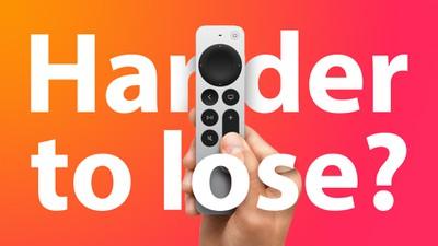 Siri Remote 2 harder to lose Feature