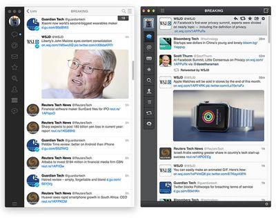 Tweetbot 2 vs Tweetbot Mac