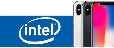 intel iphone x