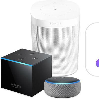 sonos one amazon fire cube echo apple music