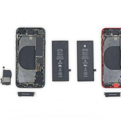 iPhone 8 vs iPhone SE Teardown iFixit