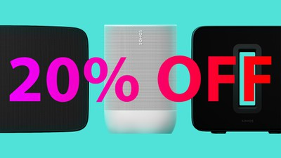 Sonos 30 off NOW IN WHITE