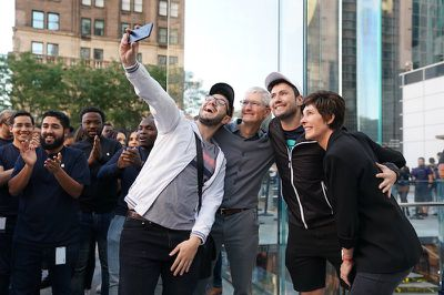 tim cook fifth ave