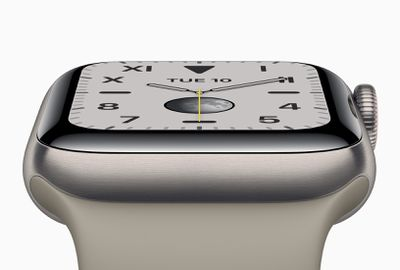 Apple watch series 5 new case material made of titanium 091019