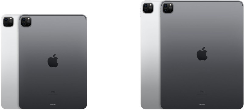 Apple iPad pro 11 inch 12.9 inch design