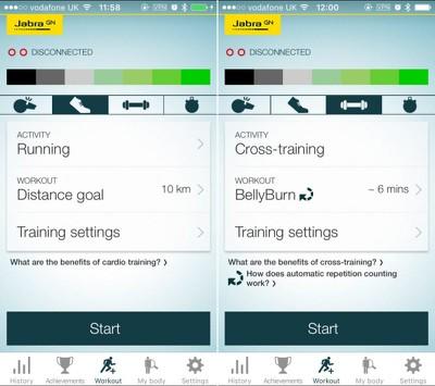 Jabra Sport app 1