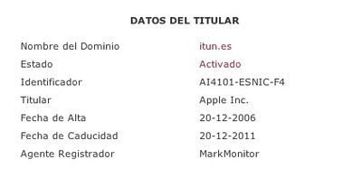 154620 itun es registration