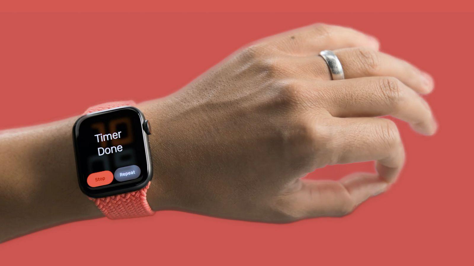 Apple Watch obtiene un cursor controlado por movimiento con Assistive Touch