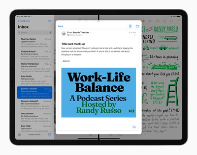 Apple iPadPro iPadOS15 multitasking splitview 060721 big