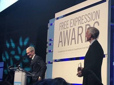 Tim Cook award