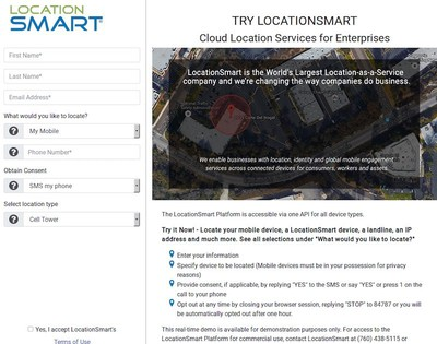 locationsmart demo