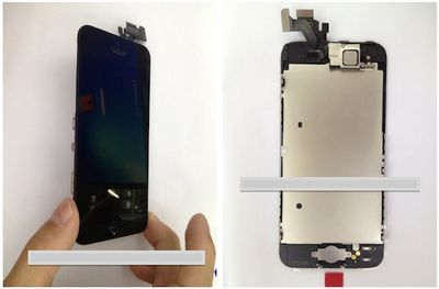 iphone 2012 front panel assembled 11