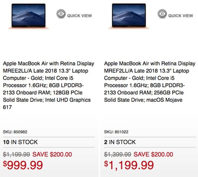 micro center macbook air deal