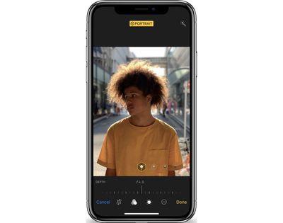 iphonexsdepthcontrol