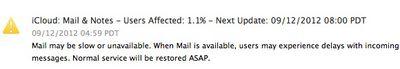 icloud mail down 091212