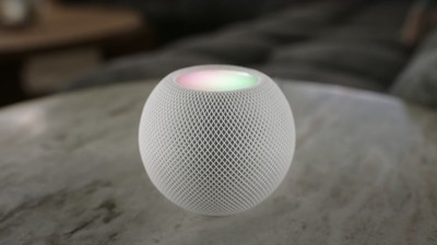 homepod mini on table