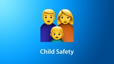 Child Safety Feature Blue