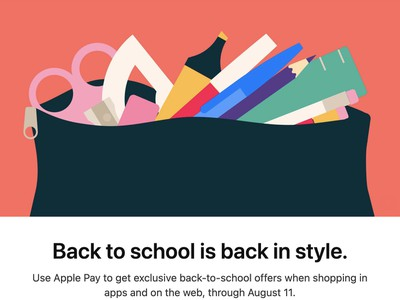 apple pay back to school promotion