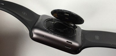 apple watch separated back cover