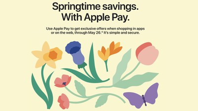 apple pay spring promo