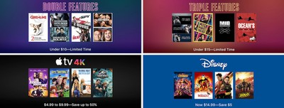 itunes movies sale holiday 2018