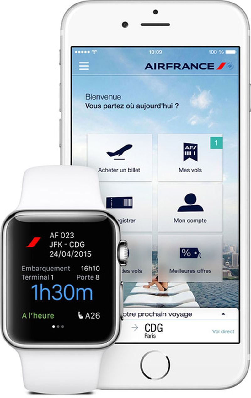 Air France Apple Watch
