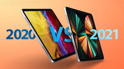 iPad Pro 2020 vs 2021 Feature