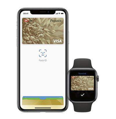 iphone apple watch hsbc apple pay france