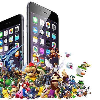 nintendo iphones