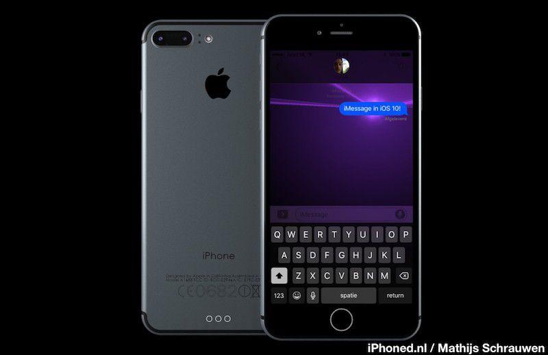 iPhone 7 render 3