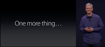 cook one more thing apple watch