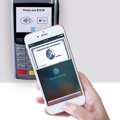 Apple pay in stores amex