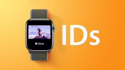 Apple Watch ID Feature