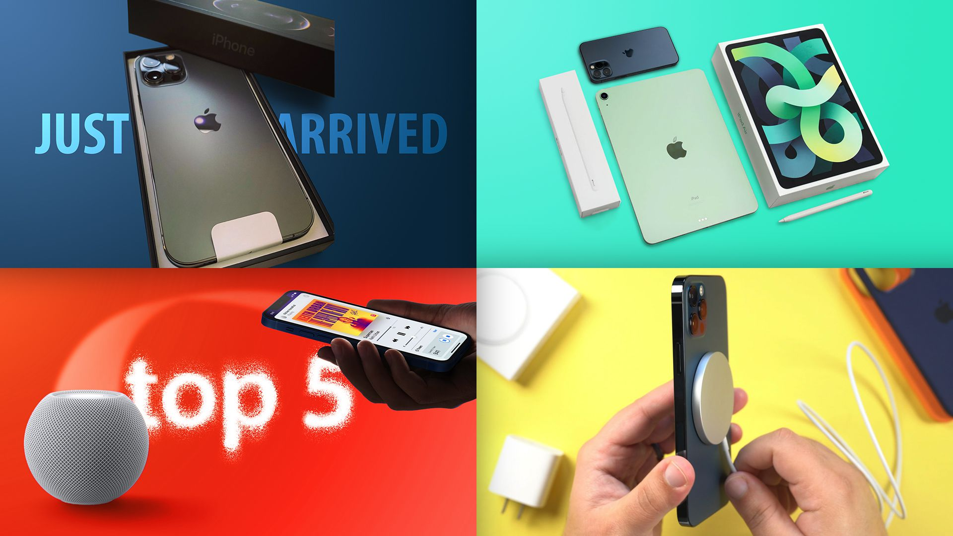 photo of Top Stories: iPhone 12, iPhone 12 Pro, MagSafe Charger, and New iPad Air Launch image