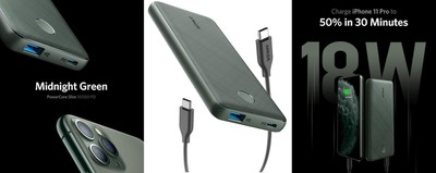 anker green charger
