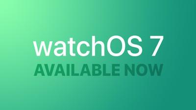 watchOS 7 Feature