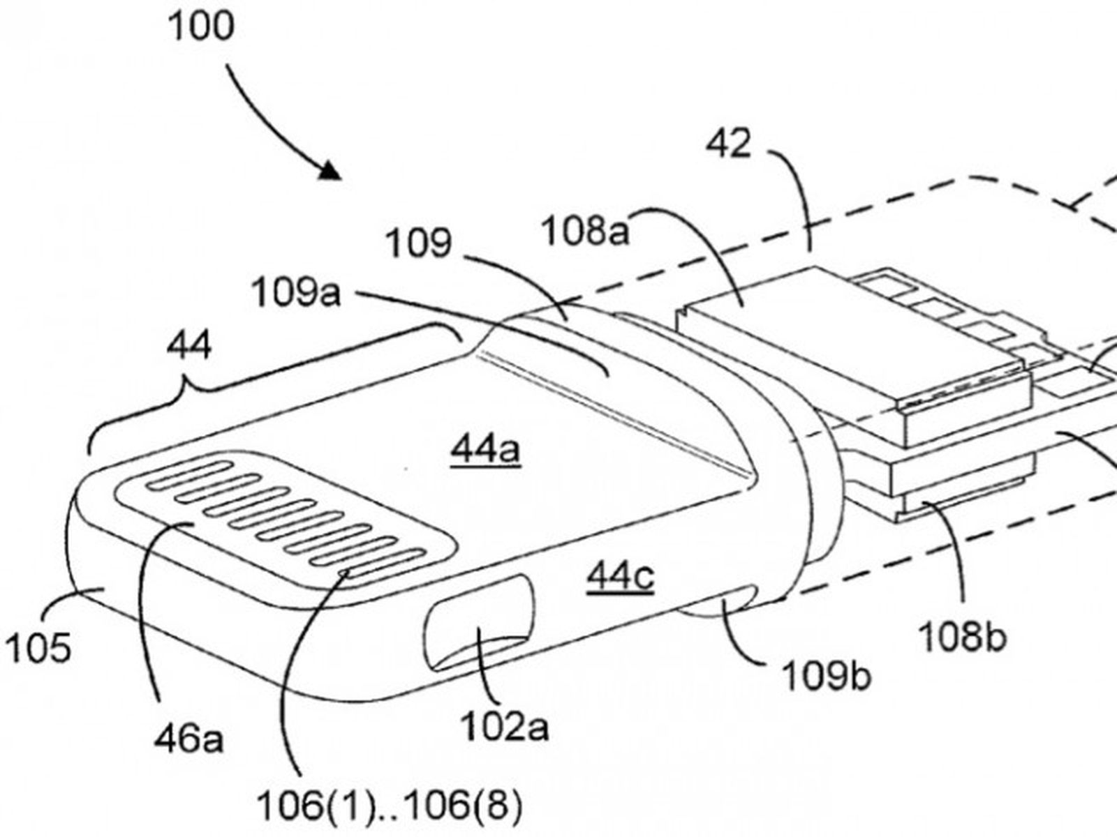 apple's lightning connector detailed in newly-published patent applications  - macrumors  macrumors