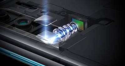 Huawei P30 Pro periscope camera cross section