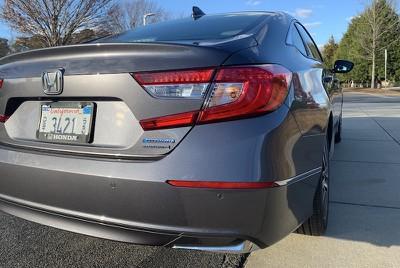 accord hybrid rear