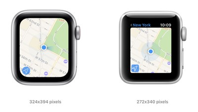 apple watch se series 3 screen