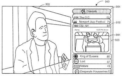 apple television interface csi
