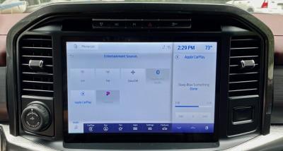 2021 ford f150 sync light