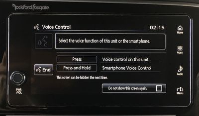 outlander voice control