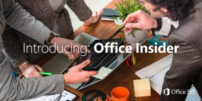 office insider microsoft