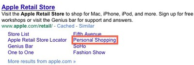 164746 personal shopping google