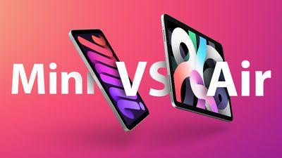 iPad mini vs Air Feature
