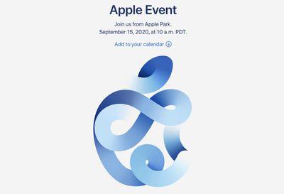 apple september 2020 event