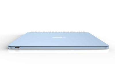 prosser macbook air blue side
