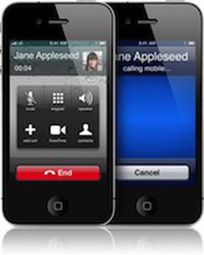 103552 iphone 4 calling